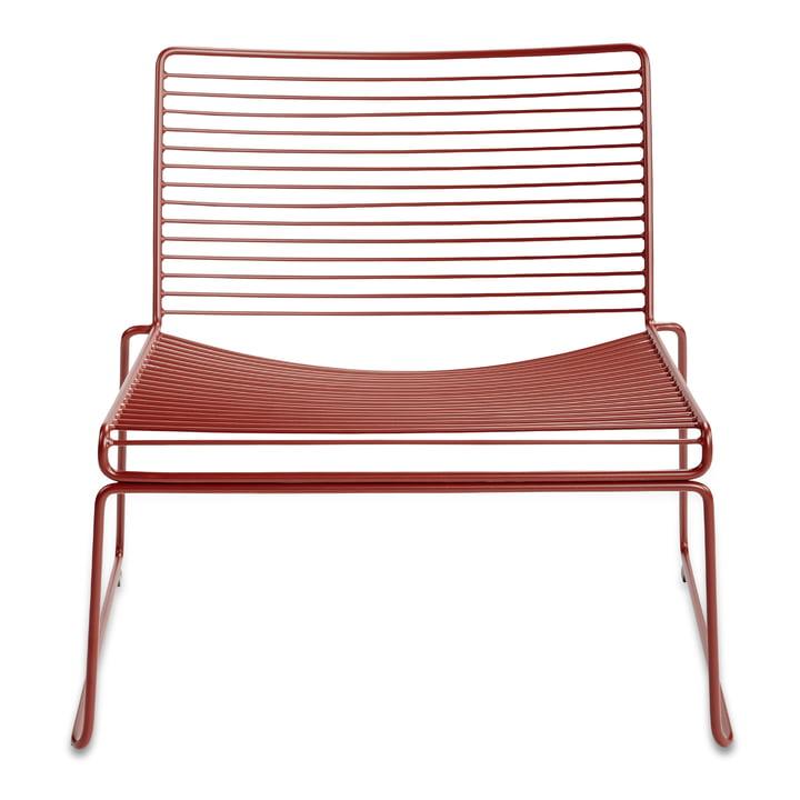 Hee Lounge Chair von Hay in Rost