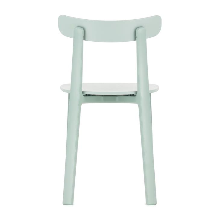Der All Plastic Chair in eisgrau von Vitra