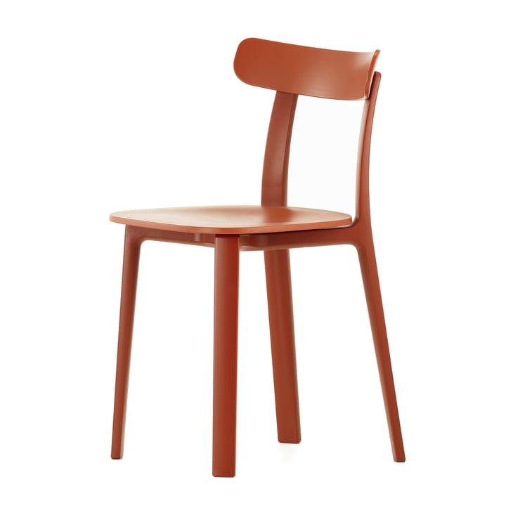 Der All Plastic Chair in rot von Vitra
