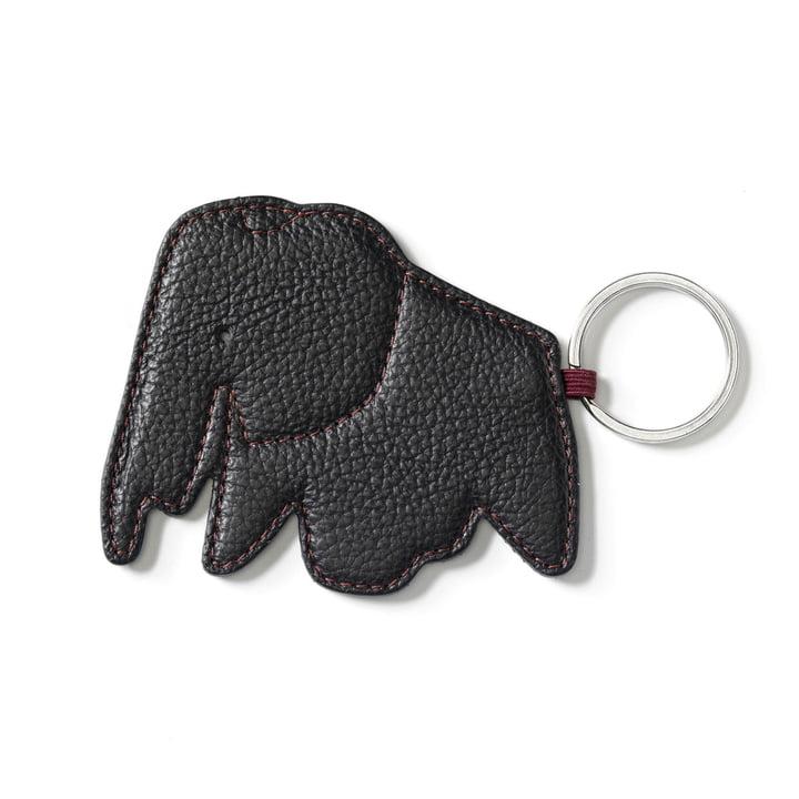 Key Ring Elephant von Vitra in Nero