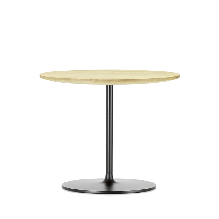 Occasional Low Table 35 von Vitra aus Eiche natur und aus Metall in Chocolat
