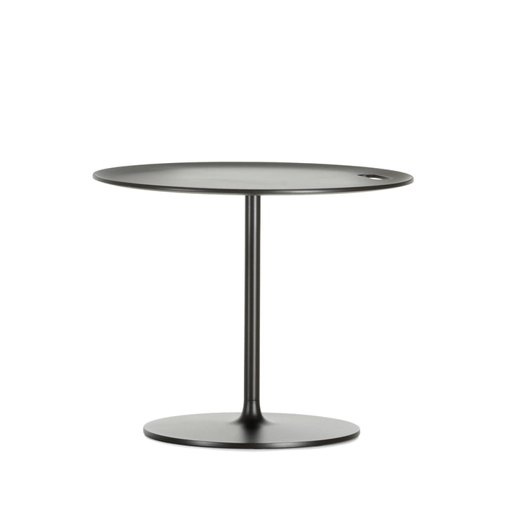 Occasional Low Table 35 von Vitra aus Aluminium und Metall in Chocolat