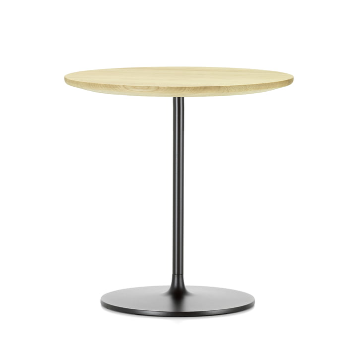 Occasional Low Table 55 von Vitra aus Eiche natur und aus Metall in Chocolat