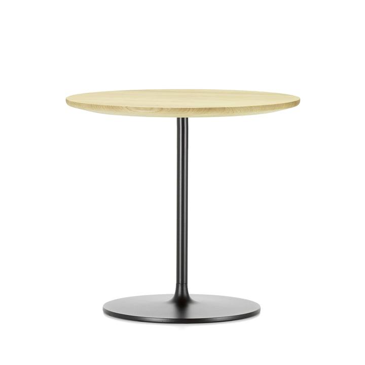 Occasional Low Table 45 von Vitra aus Eiche natur und aus Metall in Chocolat