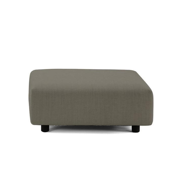 Soft Modular Sofa Ottoman von Vitra in Warmgrey (Laser 5)