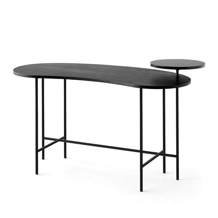 Der &Tradition - Palette Table - JH9 in schwarzer Esche / Nero Marquina