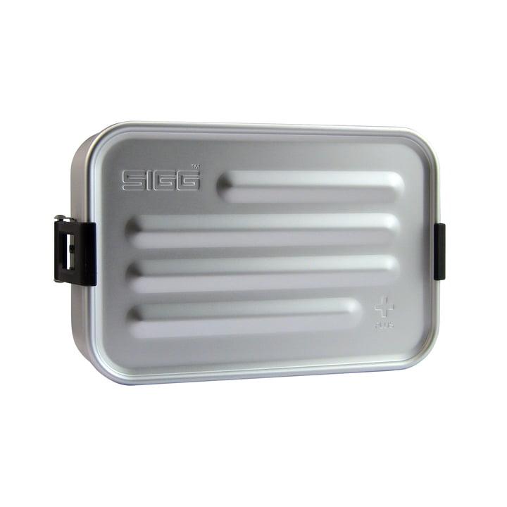 Aluminium Box Brotdose Plus S von Sigg in Aluminium