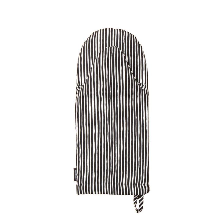 Varvunraita Ofenhandschuh von Marimekko in Schwarz / Weiß
