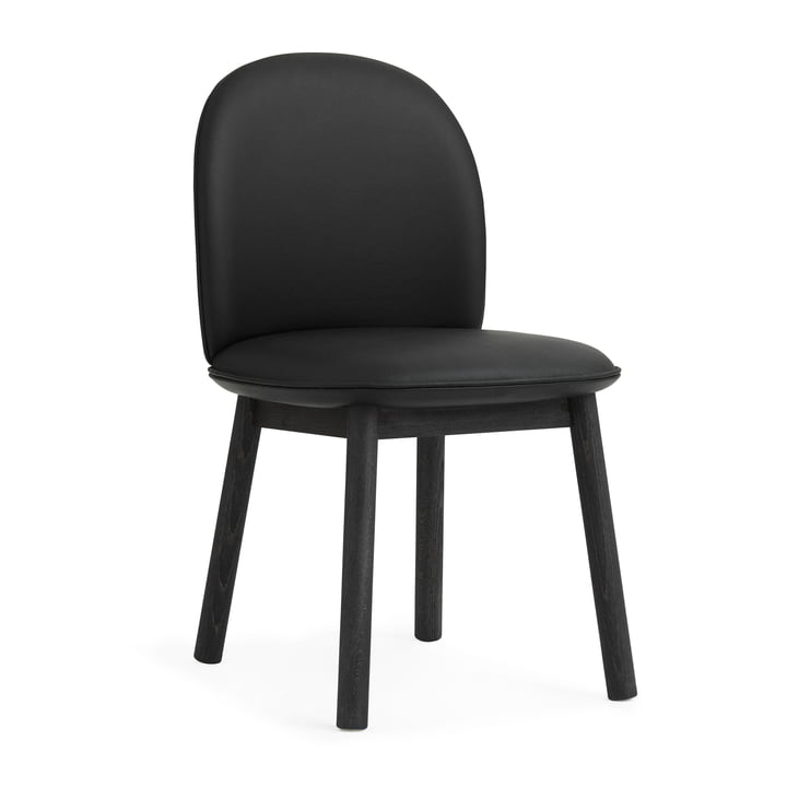 Ace Chair Tango Leather von Normann Copenhagen in Schwarz