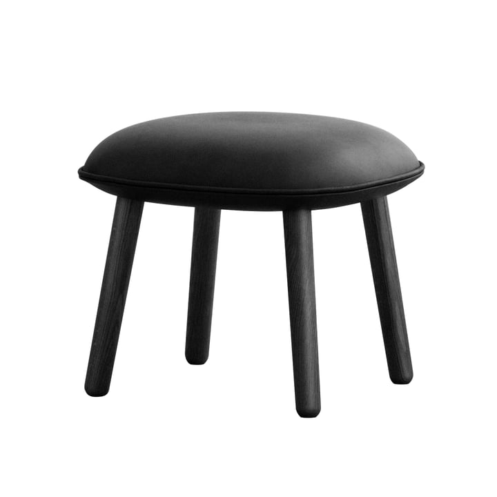 Ace Hocker Tango Leather von Normann Copenhagen in Schwarz