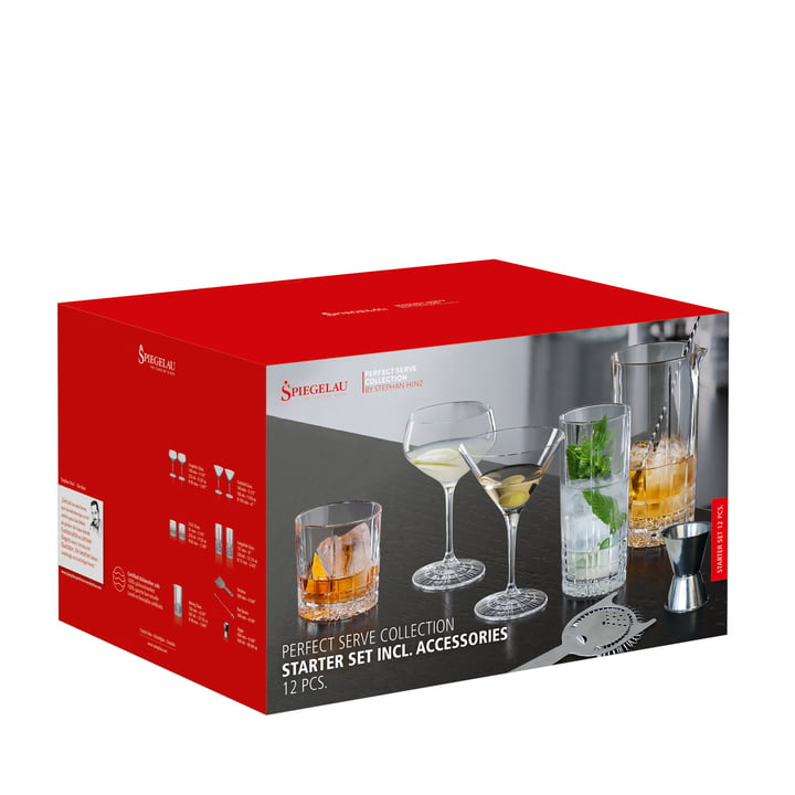 Perfect Serve Starter-Kit von Spiegelau