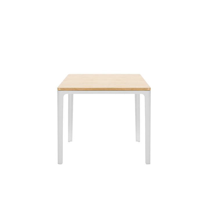 Plate Table 370 x 400 x 400 mm Eiche natur massiv, geölt von Vitra