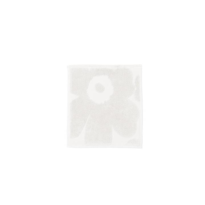 ikko Solid Mini-Handtuch 25 x 25 cm von Marimekko in Weiß