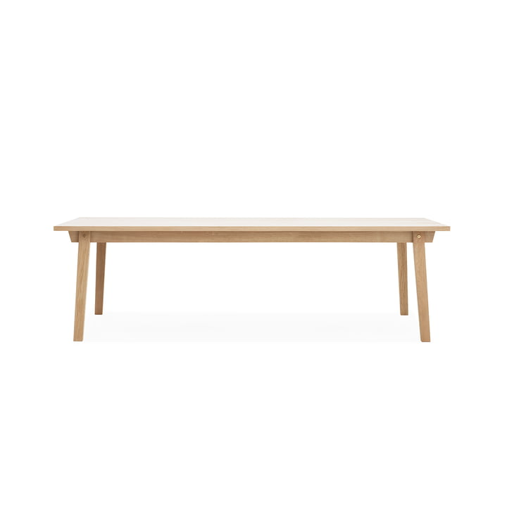 Slice Table Wood 90 x 250 cm von Normann Copenhagen aus Eiche