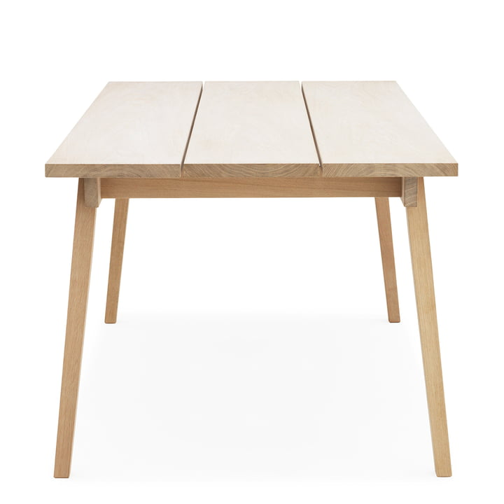 Slice Table Wood von Normann Copenhagen in Eiche
