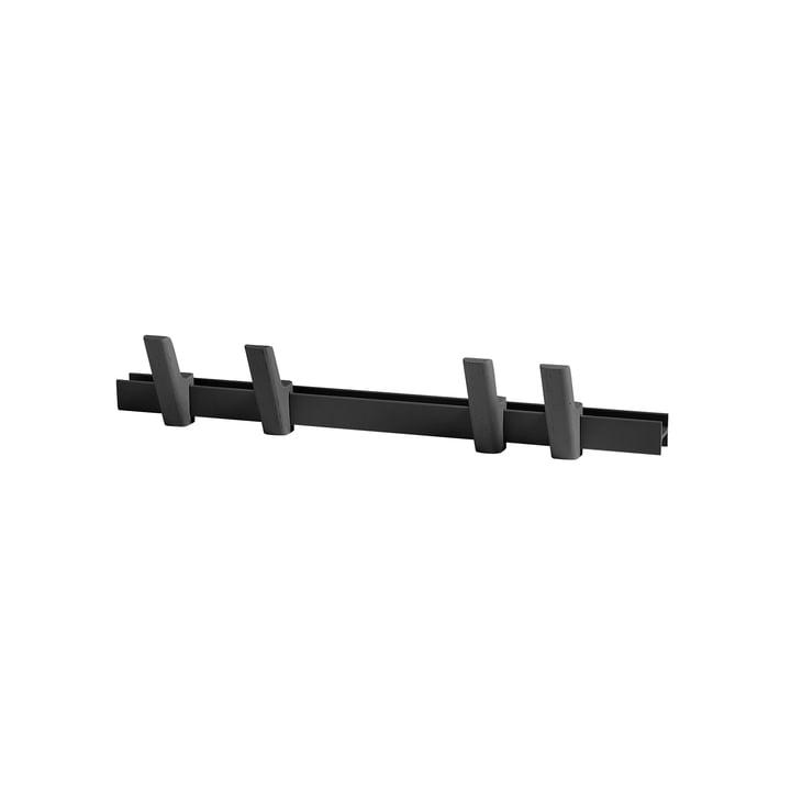 Hay - Beam L 60 cm, charcoal / Haken charcoal