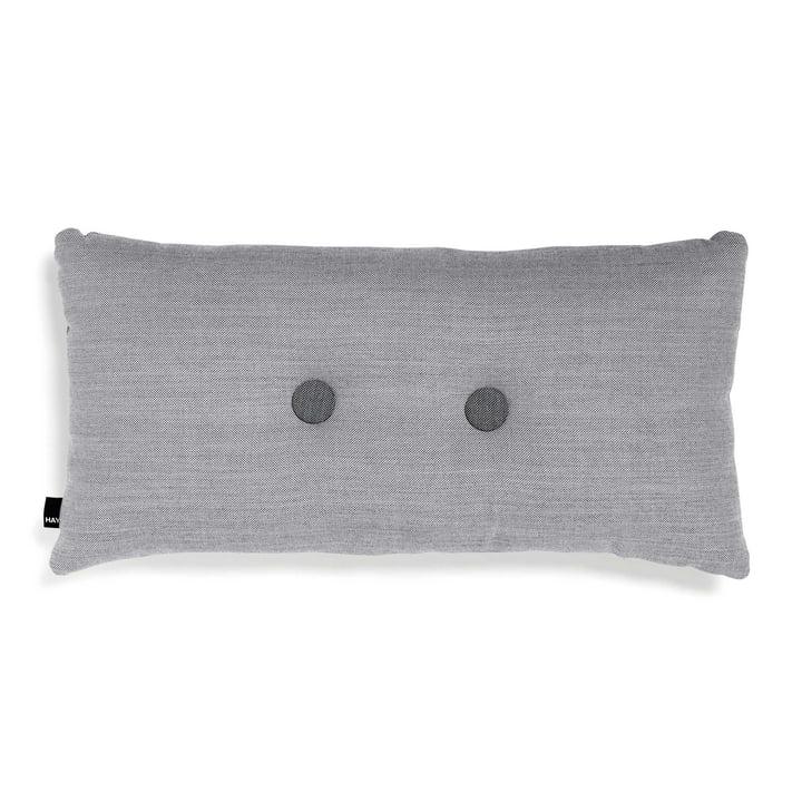 Hay - 2x2 Dot Kissen 70 x 36 cm, hellgrau