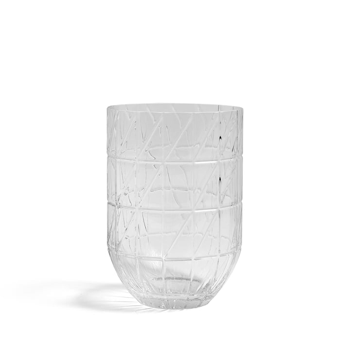 Die Hay - Colour Vase Glasvase in L, transparent