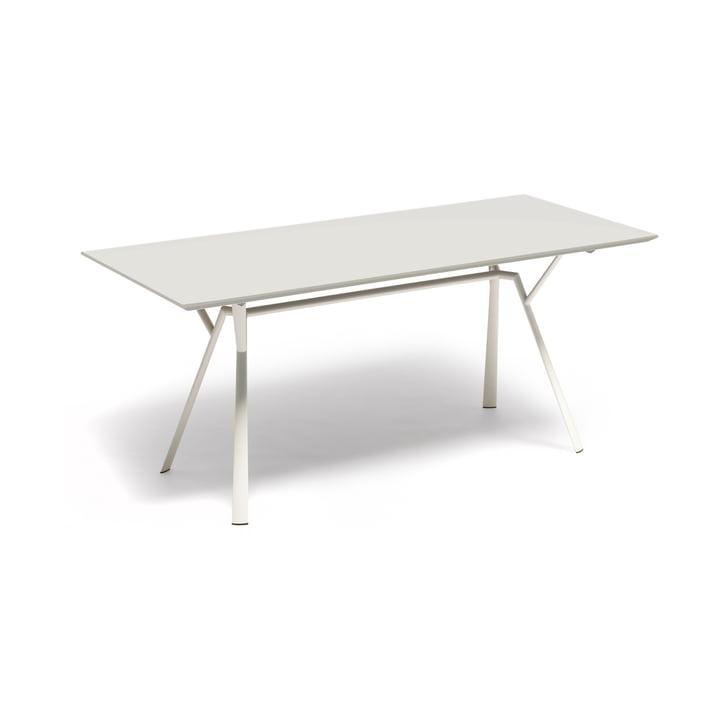 Fast - Radice Quadra Esstisch 150 x 90 cm, weiß