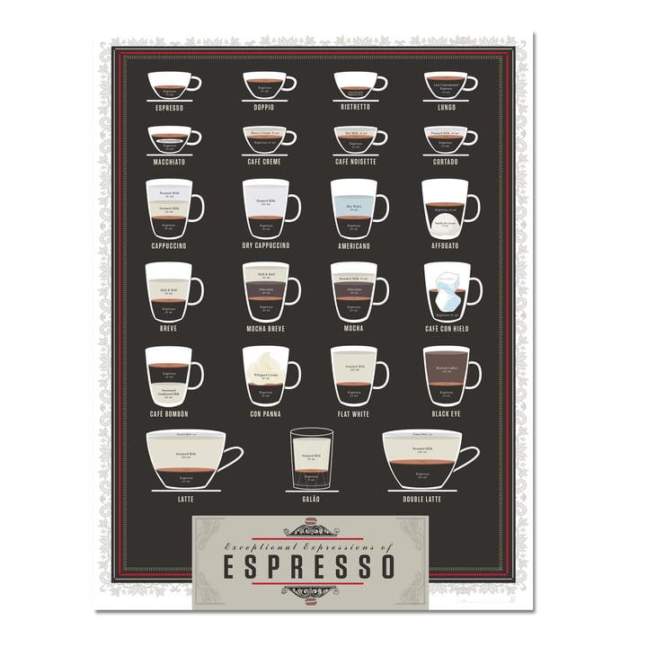 Exceptional Expressions of Espresso von Pop Chart Lab