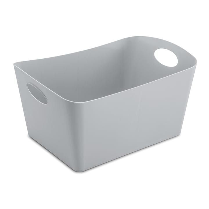 Boxxx L Aufbewahrungsbox von Koziol in Grau
