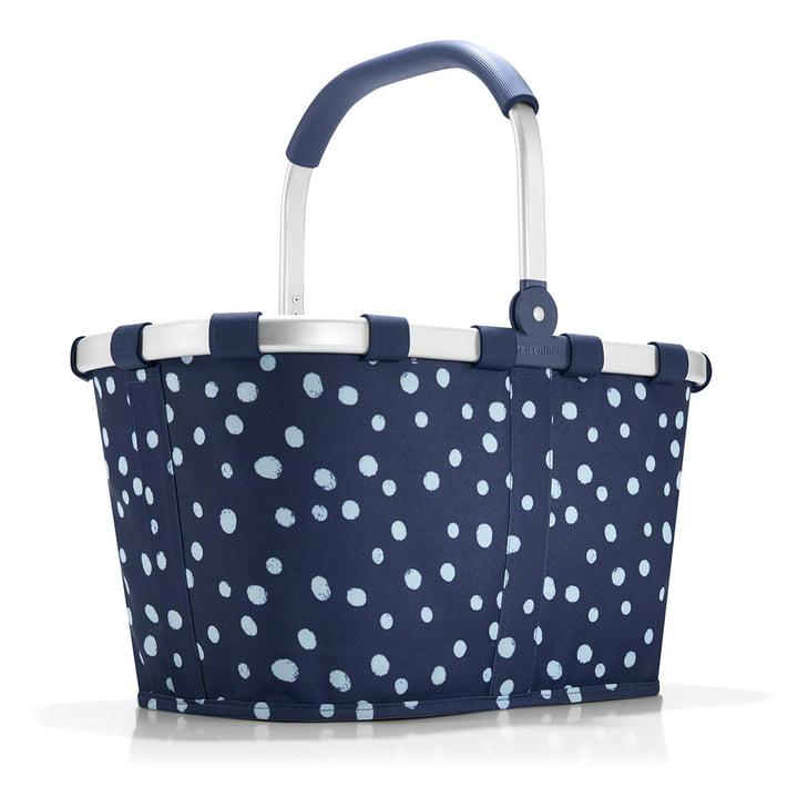 carrybag von reisenthel in spots navy