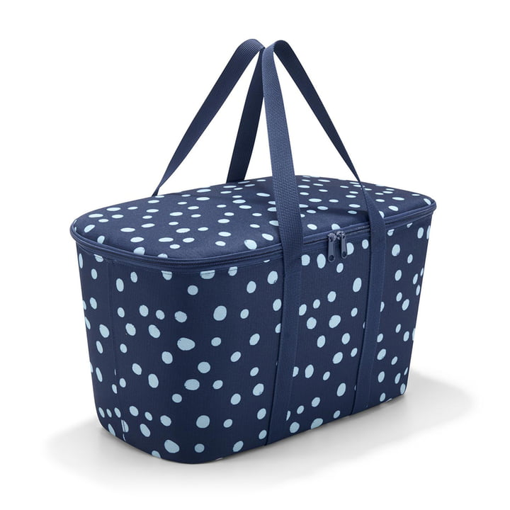 coolerbag von reisenthel in spots navy