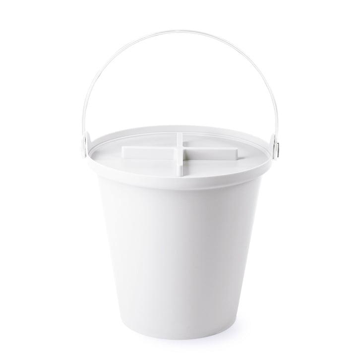 Authentics - H2O Eimer, weiß / weiß