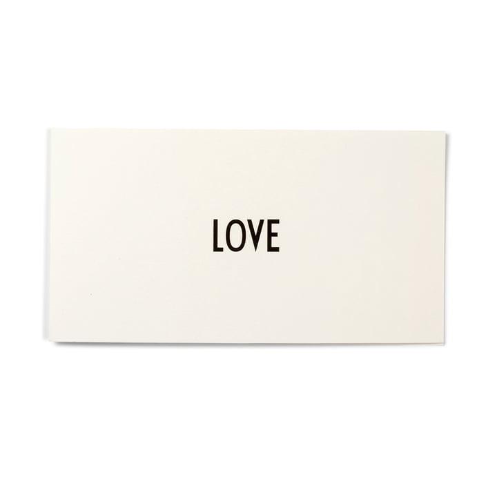 Design Letters - AJ Grußkarte, Love