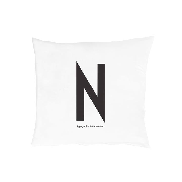 Design Letters - Kissenbezug von A-Z, 60x50 cm, N