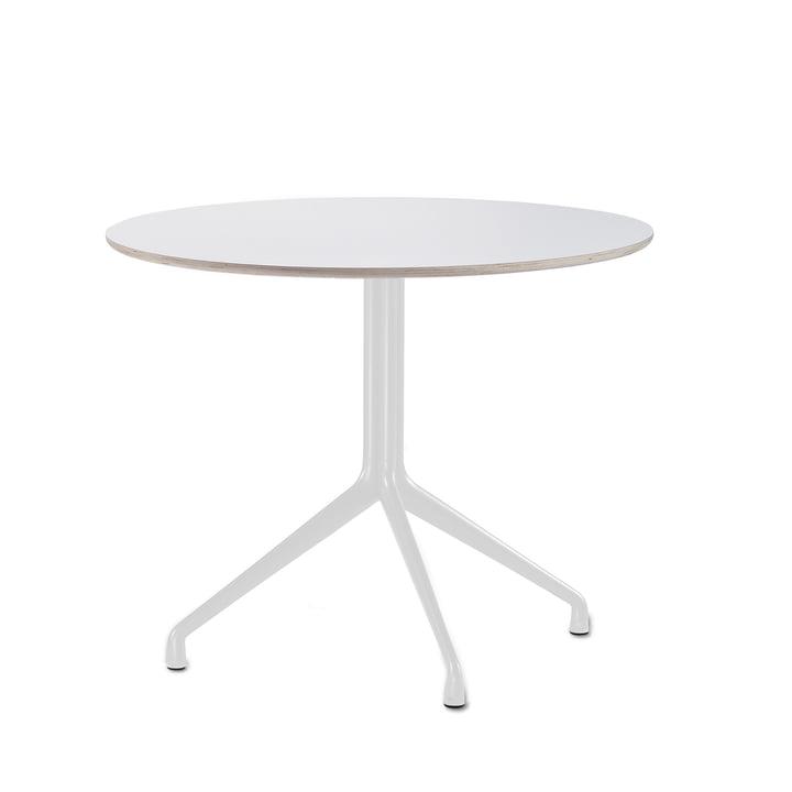 About A Table AAT 20 Bistrotisch 3-beinig Ø80 x H73 cm von Hay in Weiß (Kunststoffgleiter)