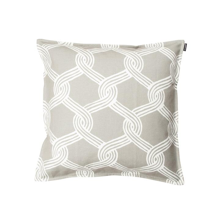 Marimekko - Sulhasmies Kissenbezug 50 x 50 cm, grauweiß / beige