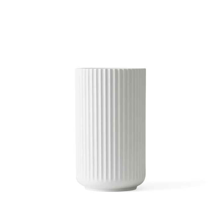 Lyngby Porcelæn - Lyngbyvase, weiß matt, H 12 cm
