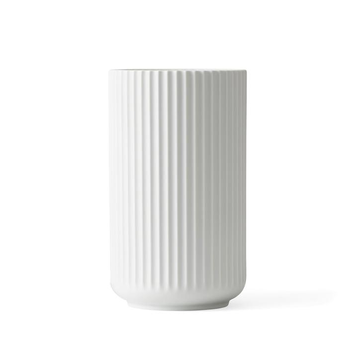 Lyngby Porcelæn - Lyngbyvase, weiß matt, H 20 cm