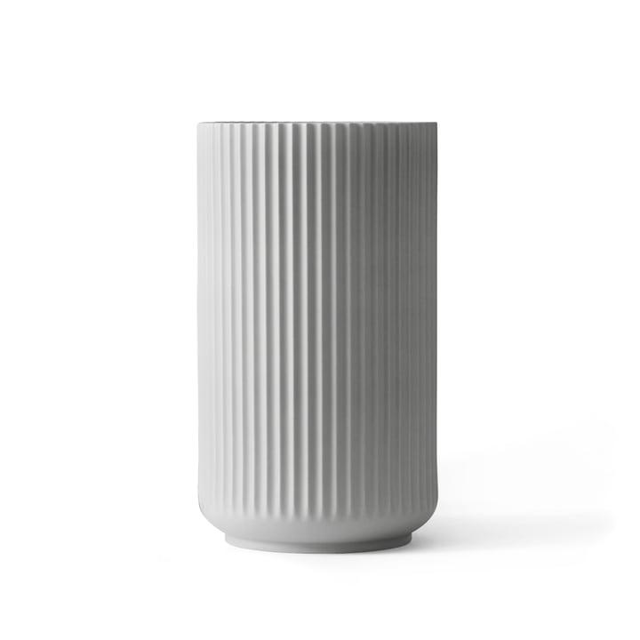 Lyngby Porcelæn - Lyngbyvase, hellgrau, H 20 cm
