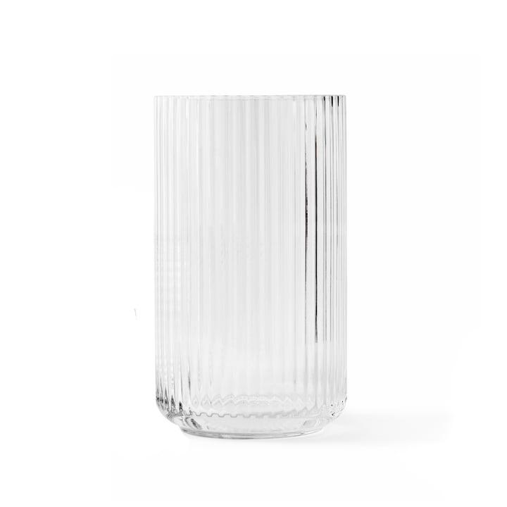 Glasvase H 20 cm von Lyngby Porcelæn in transparent