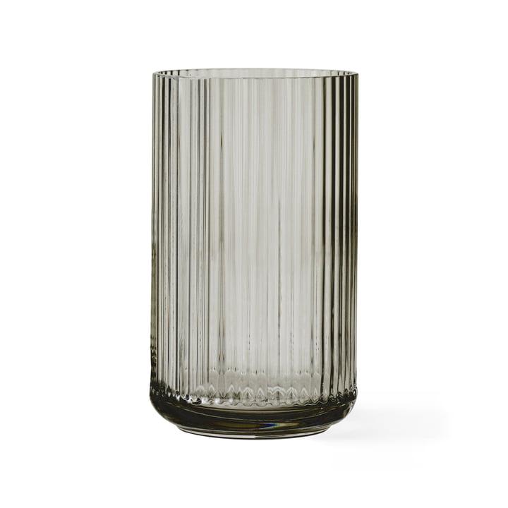 Glasvase H 25 cm von Lyngby Porcelæn in Smoke