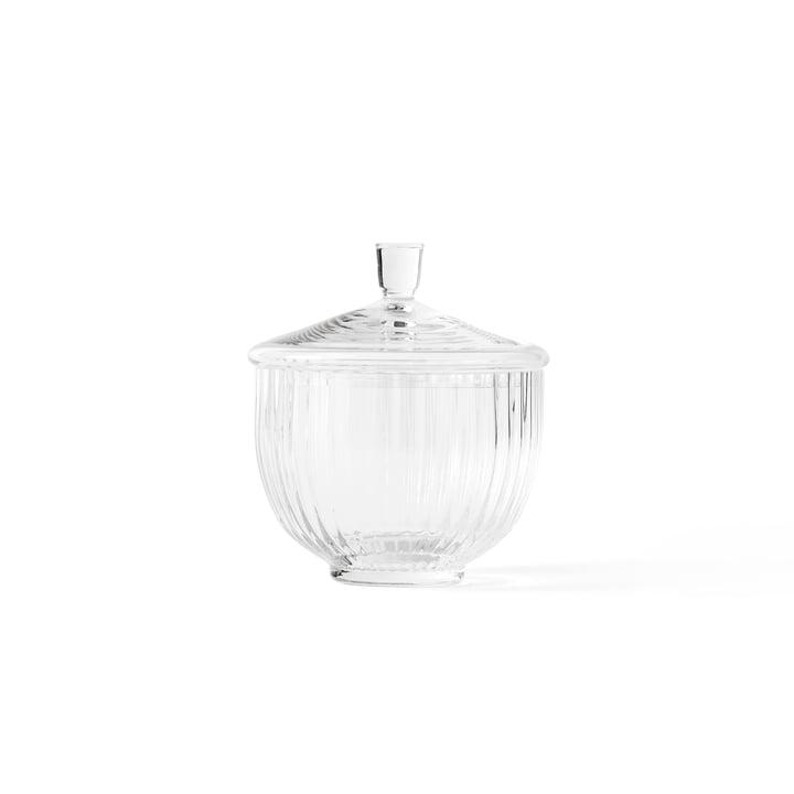 Bonbonniere Glas transparent ø 10 cm von Lyngby Porcelæn