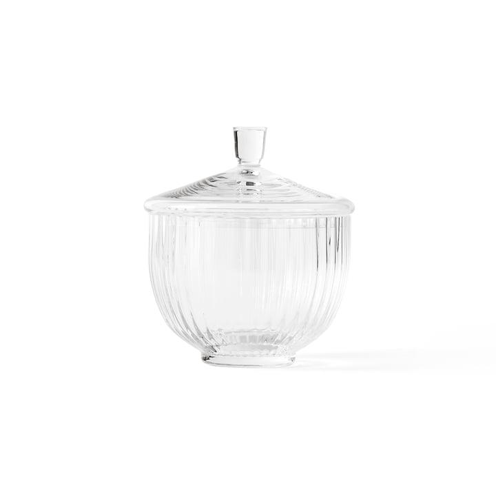 Bonbonniere Glas transparent ø 14 cm von Lyngby Porcelæn