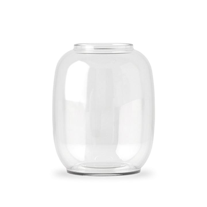 Form Vase Transparent 140/2 von Lyngby Porcelæn
