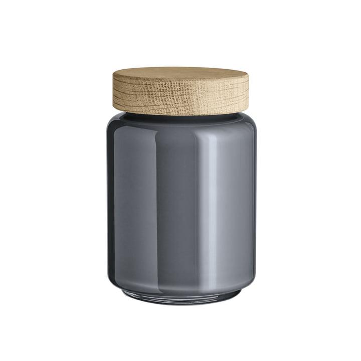 Palet Aufbewahrungsglas 0,7 l von Holmegaard in Dunkelgrau
