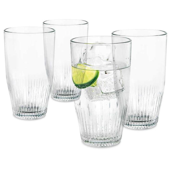 4er-Set Wasserglas 38 cl von Rosendahl