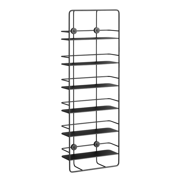 Coupé Vertical Shelf von Woud in Schwarz