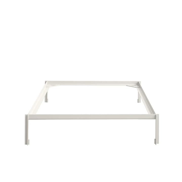 Conncect Bett 140 cm von Hay in Weiß