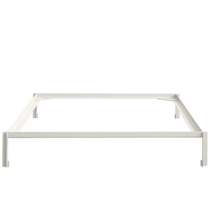 Conncect Bett 180 cm von Hay in Weiß