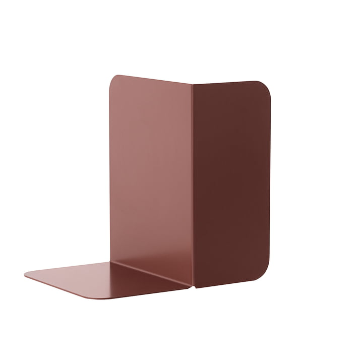 Compile Bookend von Muuto in Pflaume