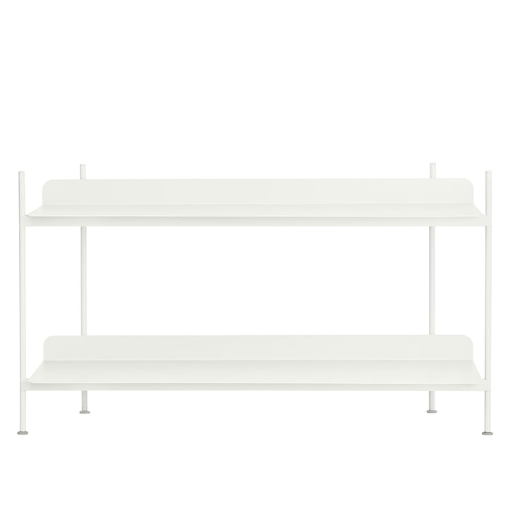 Compile Shelving System (Config. 1) von Muuto in Weiß