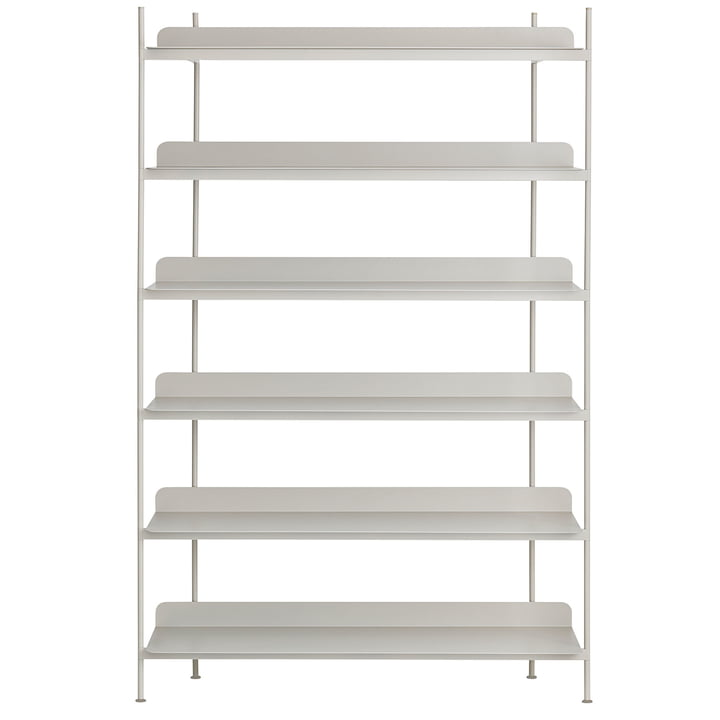 Compile Shelving System (Config. 4) von Muuto in Grau