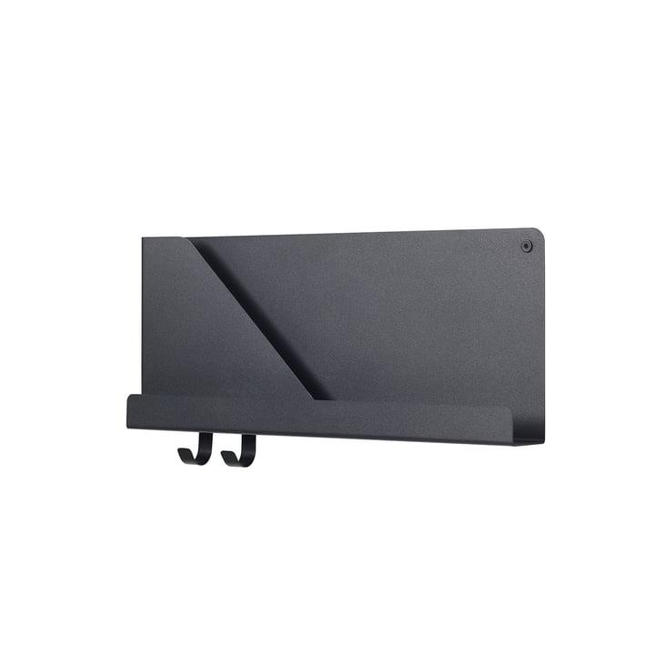 Small Folded Shelve 51 x 22 cm von Muuto in Schwarz