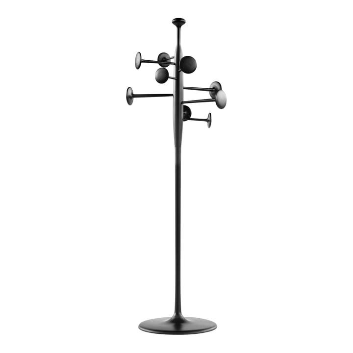 Mater - Trumpet Gardrobenständer, Aluminium schwarz lackiert
